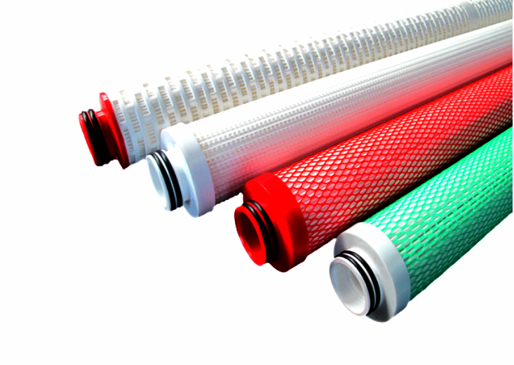 Oil field filter cartridges