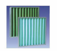 Pleated primary air filter